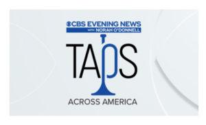 Taps Across America With CBS Evening News