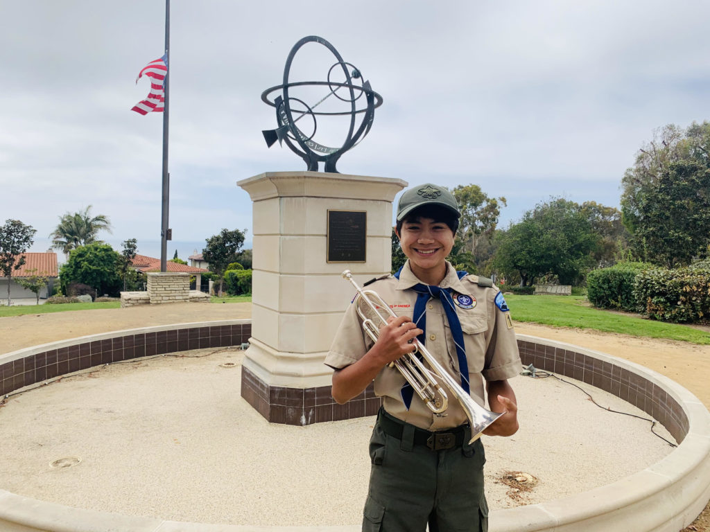 Zachary Boss from Boy Scout Troop 128